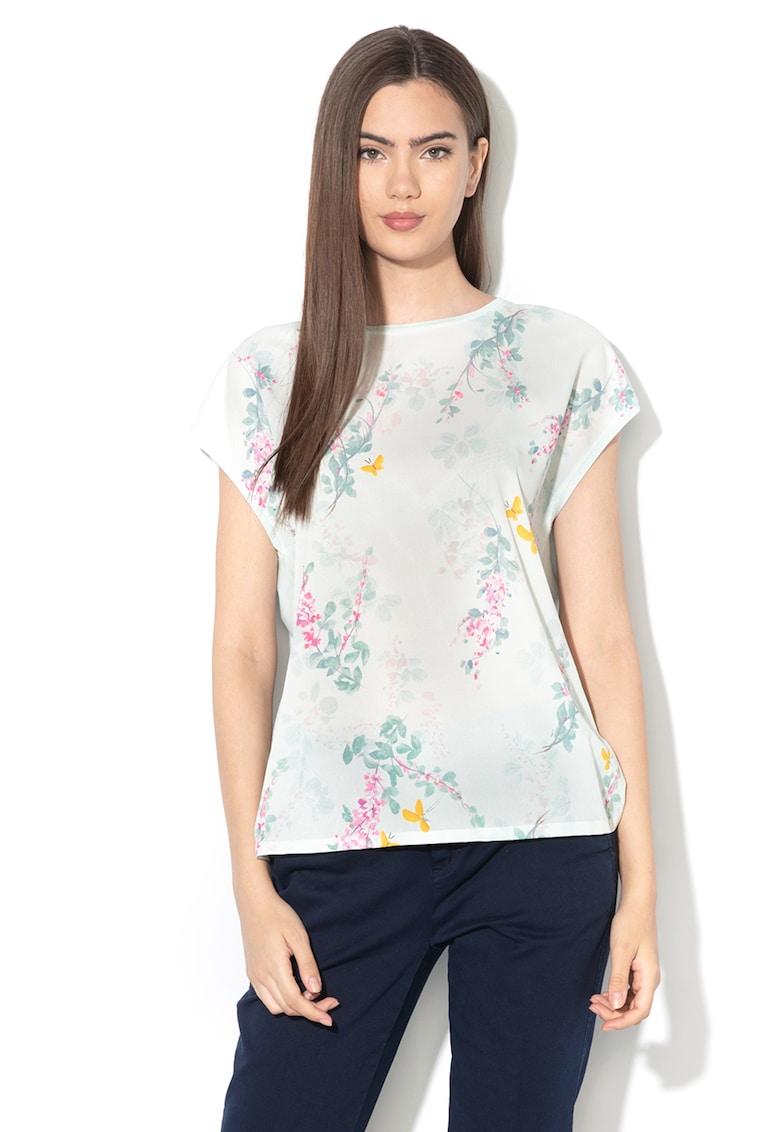 Bluza din amestec de lyocell - cu imprimeu floral Benlita de la Ted Baker