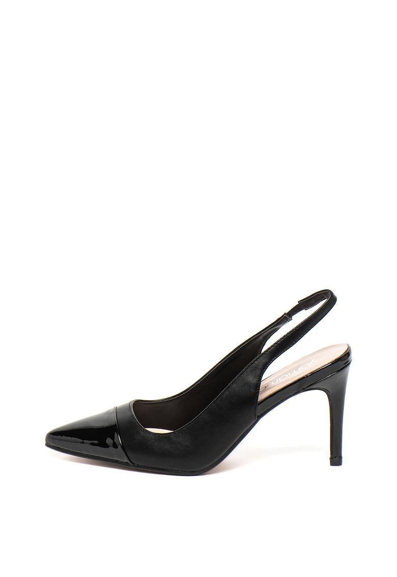 Pantofi slingback de piele ecologica cu varf ascutit Brooke de la Yamamay