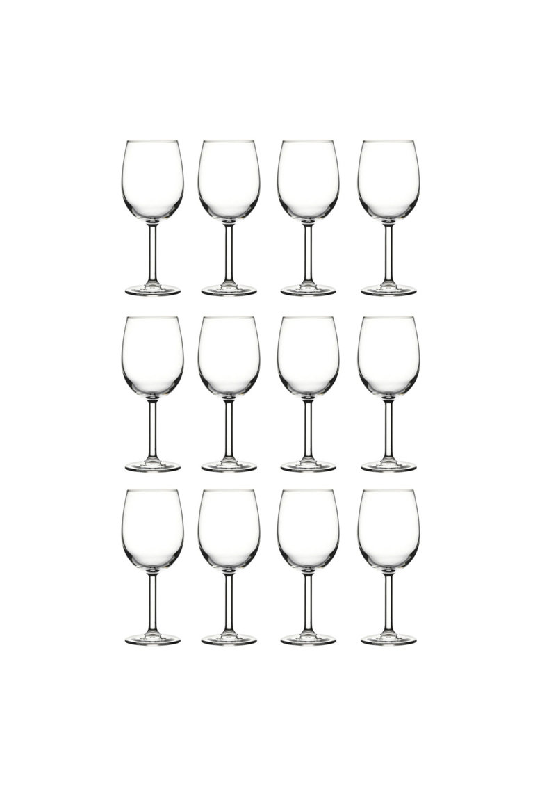 Set pahare vin alb - Prime Time - 12 piese - 395 ml imagine fashiondays.ro