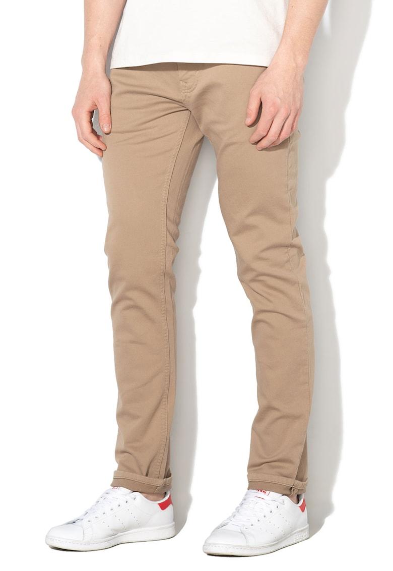 Pantaloni skinny fit cu 5 buzunare
