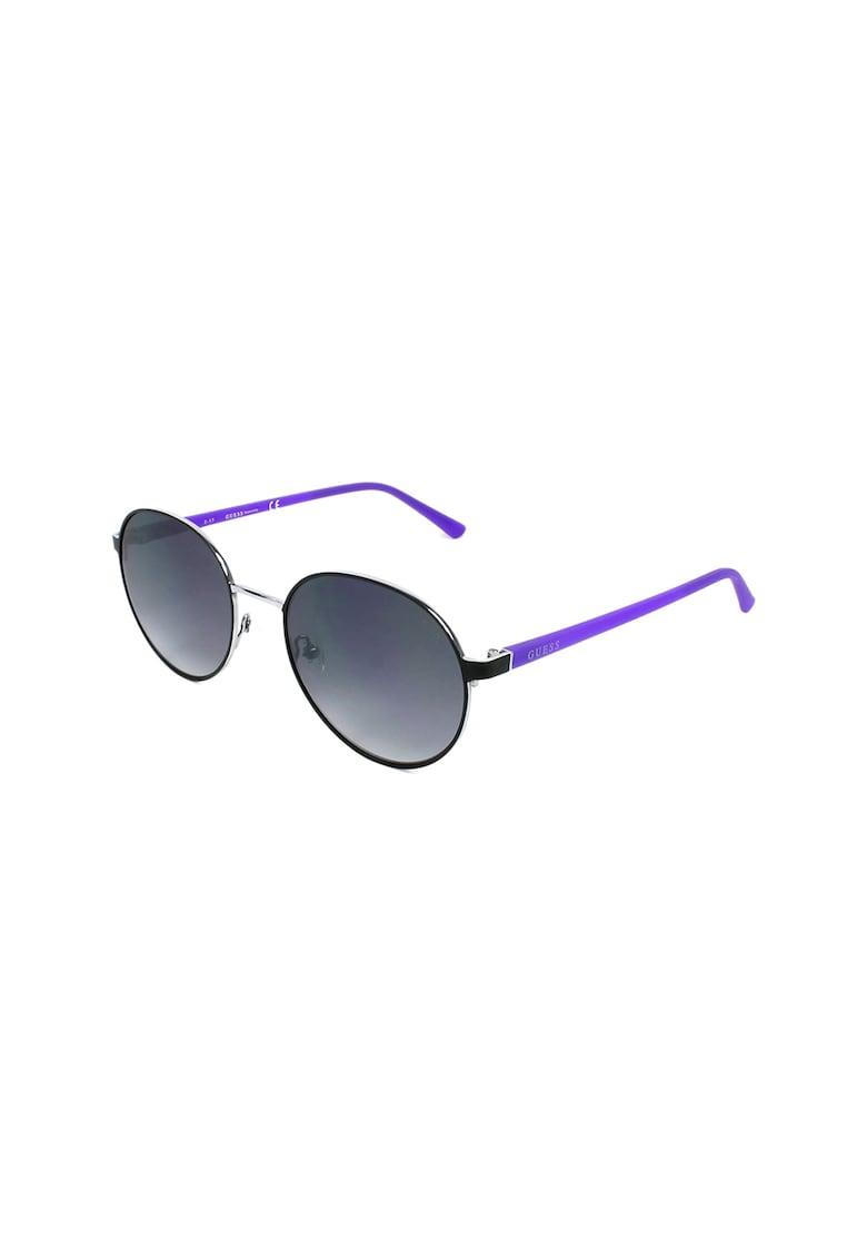 Ochelari de soare unisex rotunzi imagine fashiondays.ro Guess
