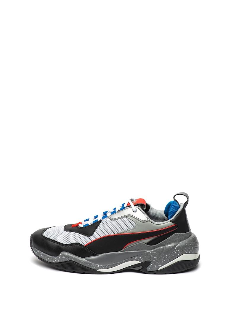 Pantofi sport cu insertii de piele intoarsa Virtus 3