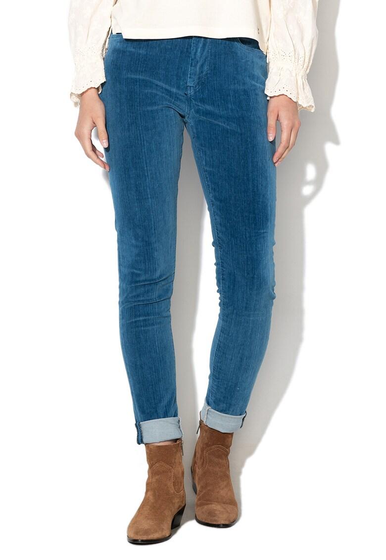Pantaloni skinny din reiat Regent imagine fashiondays.ro