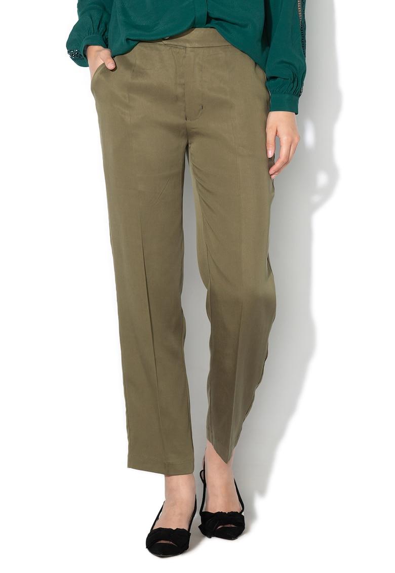 Pantaloni eleganti - din lyocell Daphne imagine fashiondays.ro