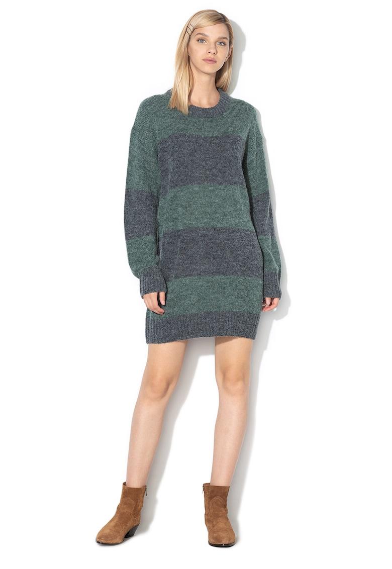 Rochie tip pulover in dungi Isabella