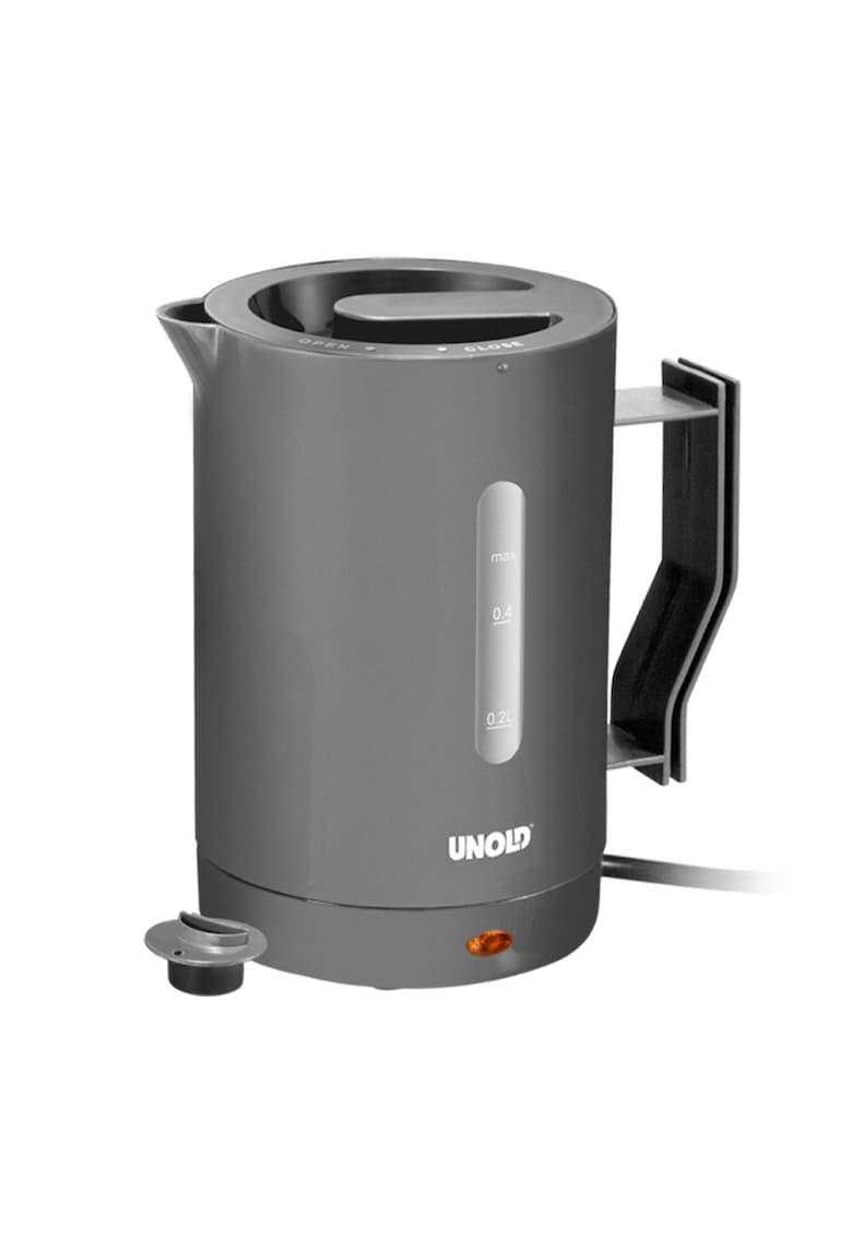 Fierbator electric de voiaj U8210 - 1000 W - 0.5 L - Gri poza fashiondays