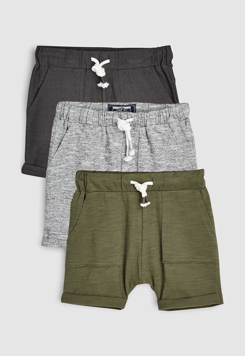 Set de pantaloni scurti din jerseu - cu snur - 3 perechi de la NEXT