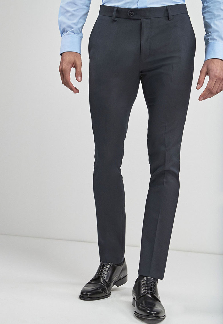 Pantaloni eleganti super skinny imagine