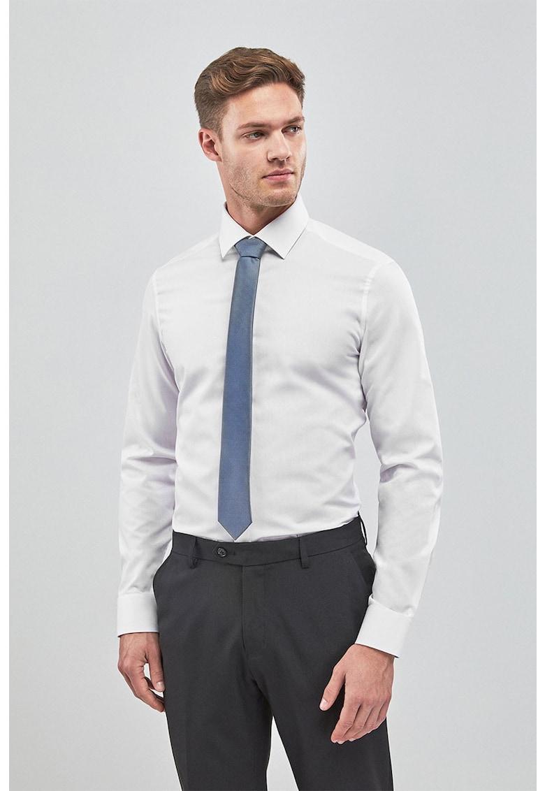 Camasa slim fit cu cravata si batista de la NEXT