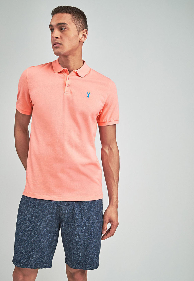 NEXT Tricou polo regular fit - din material pique