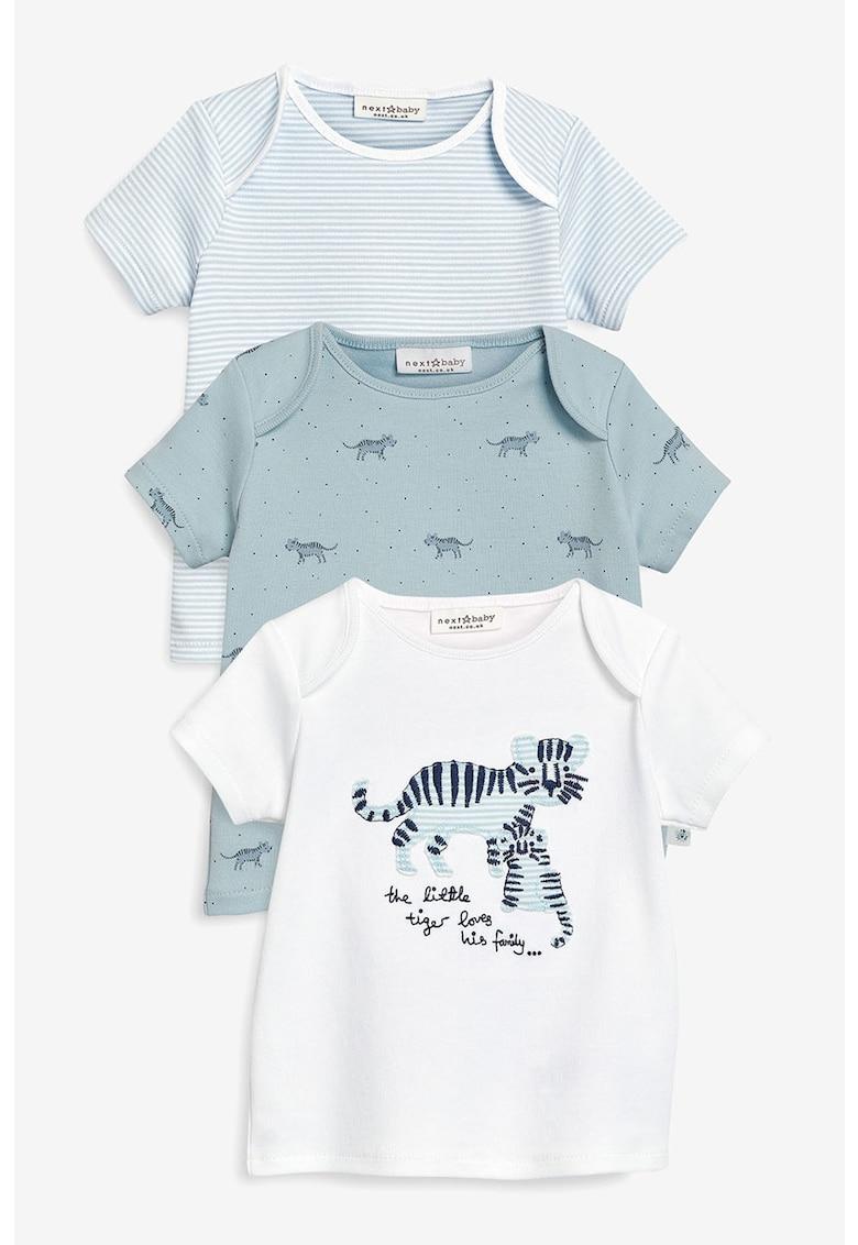 Set de tricouri cu imprimeu - 3 piese