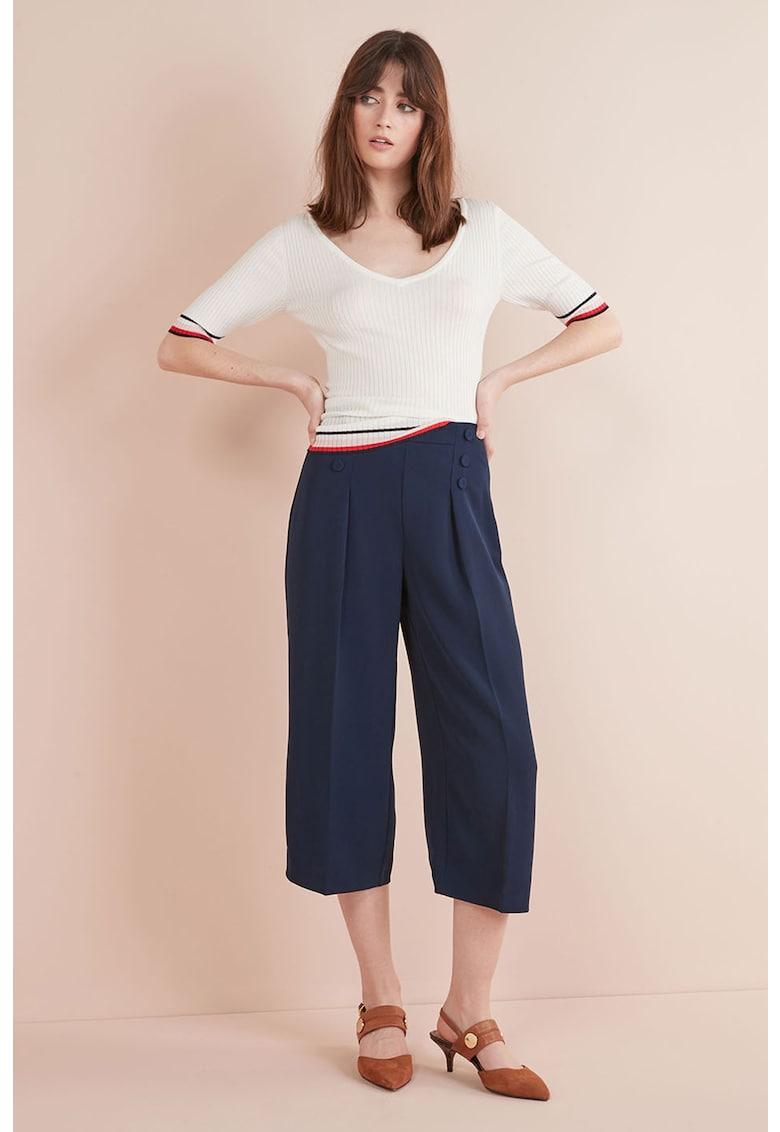 Pantaloni culotte cu nasture NEXT