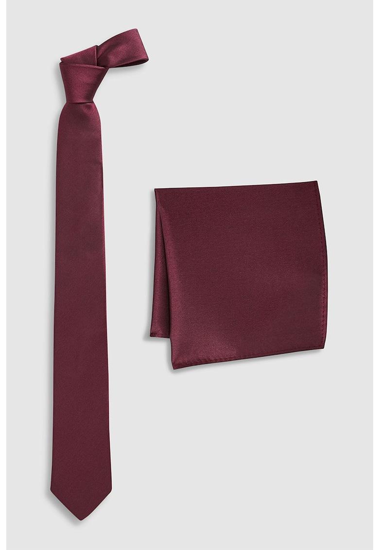 Set de batista decorativa si cravata de matase thumbnail