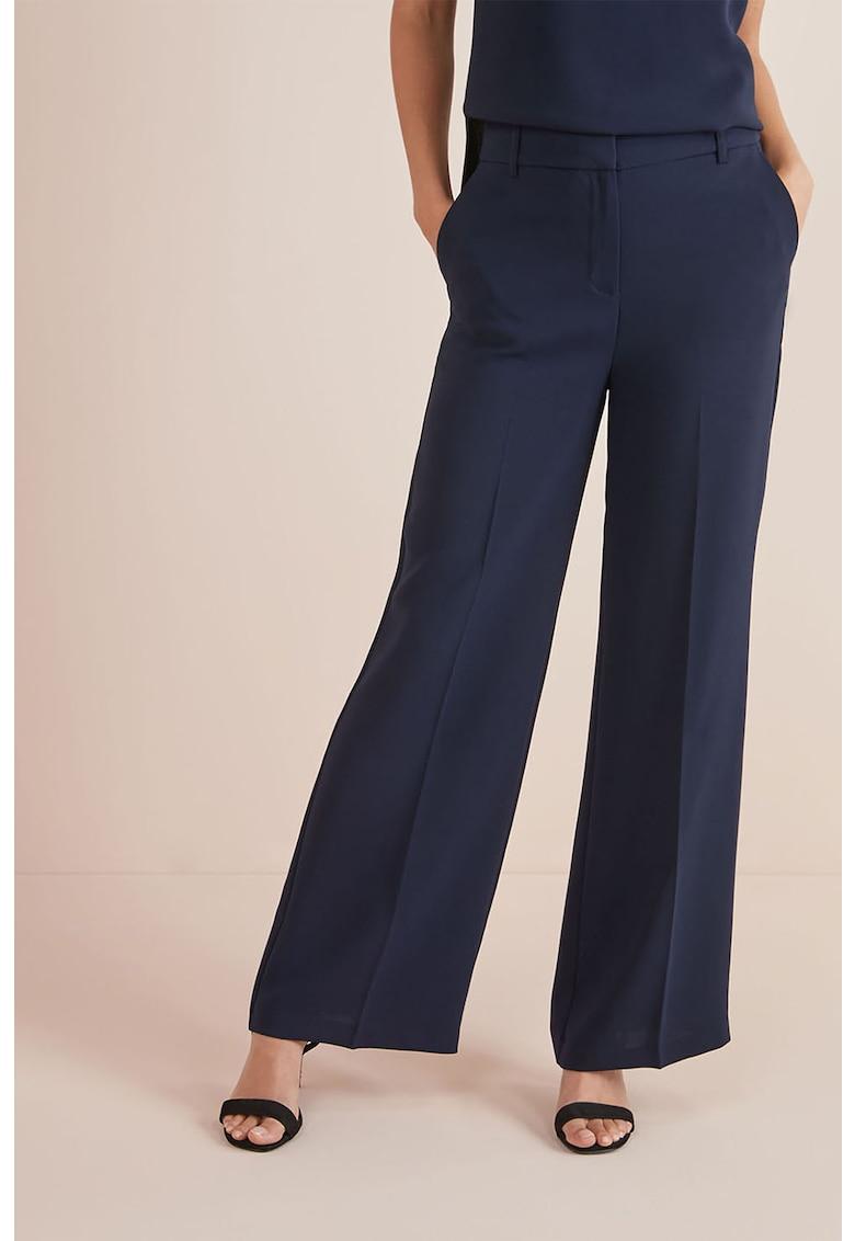Pantaloni cu croiala ampla si talie inalta de la NEXT