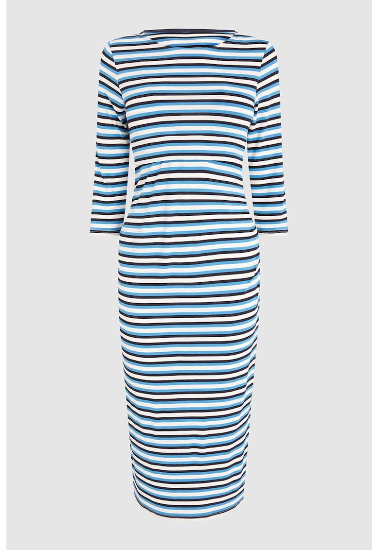Rochie din jerseu cu model in dungi – pentru alaptare de la NEXT