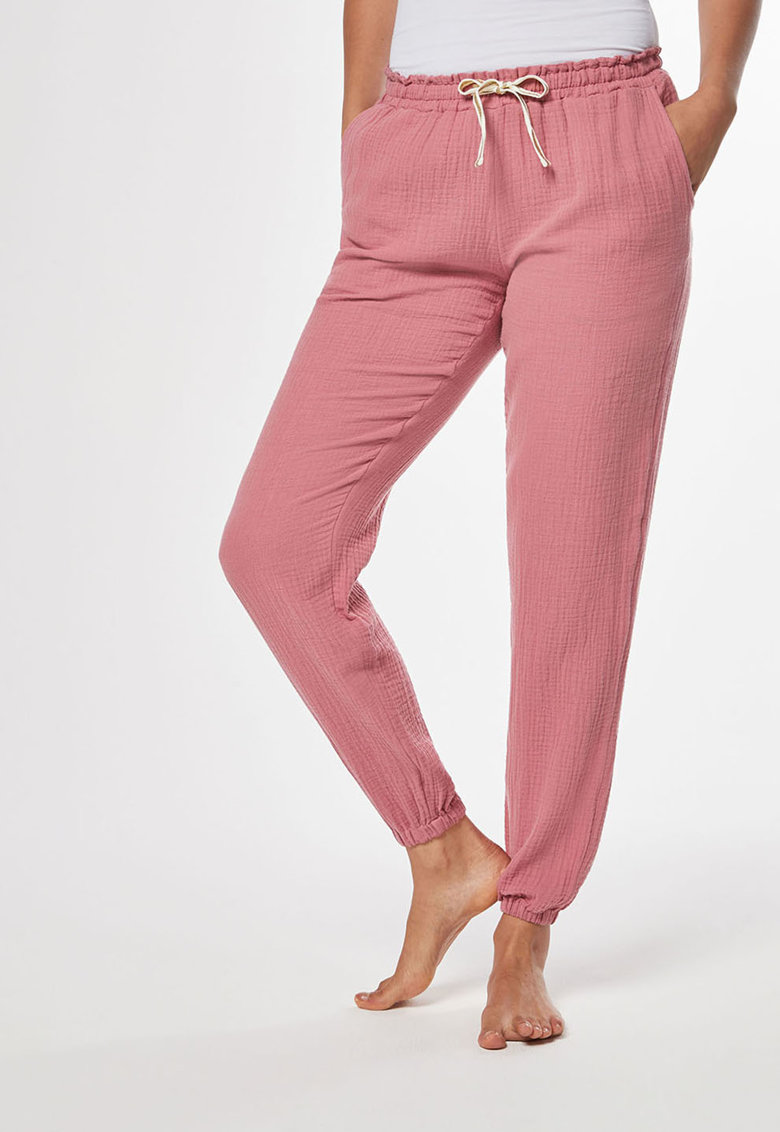 Pantaloni jogger texturati