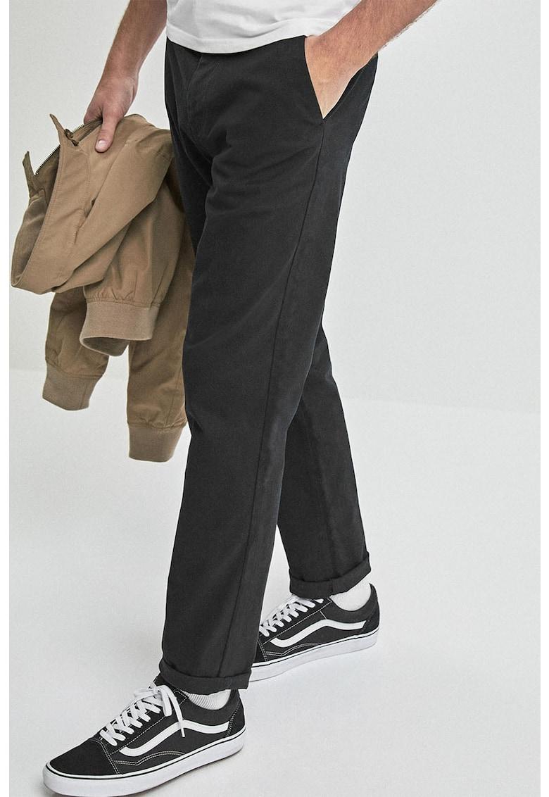 NEXT Pantaloni chino cu croiala dreapta