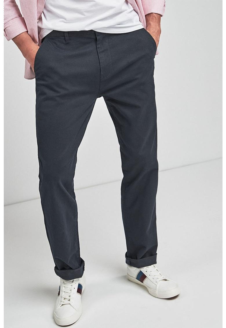 Pantaloni chino cu croiala dreapta NEXT