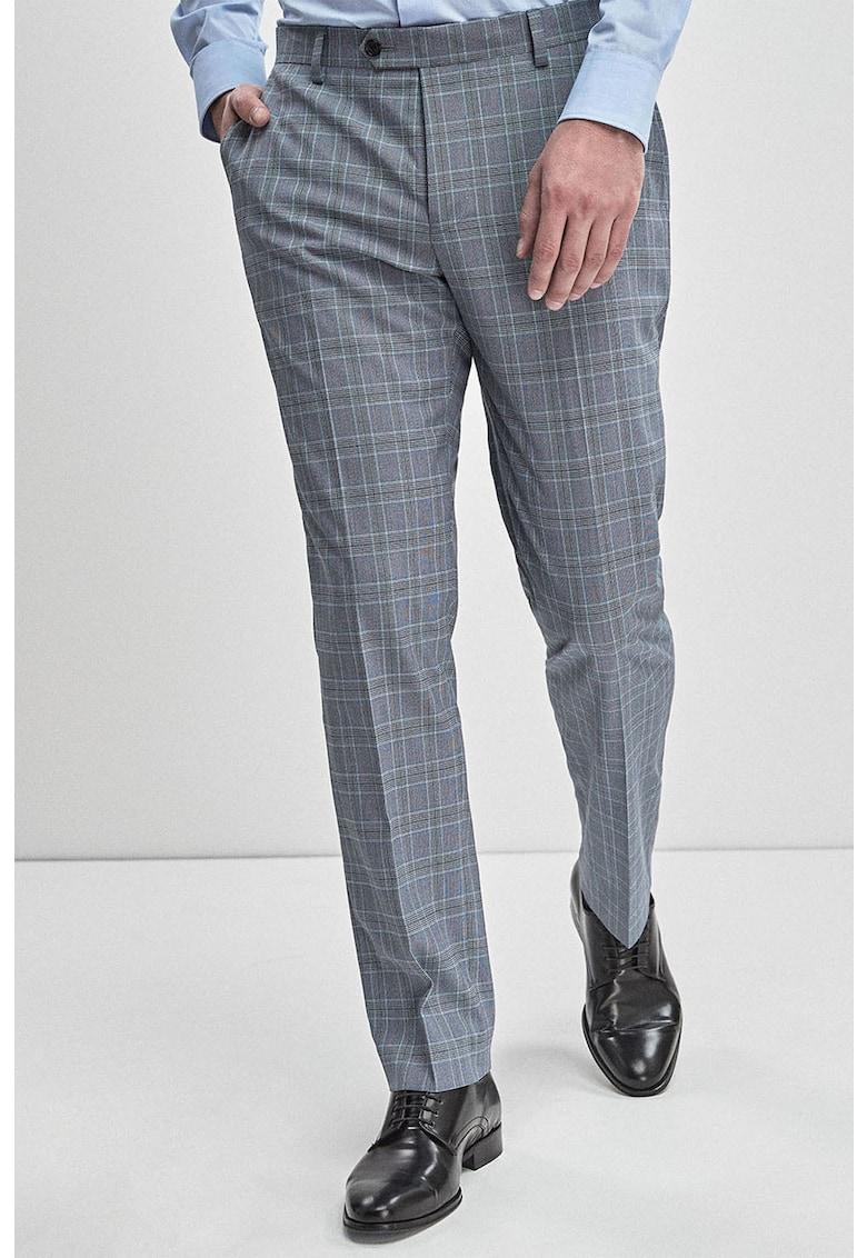 Pantaloni eleganti cu model in carouri de la NEXT