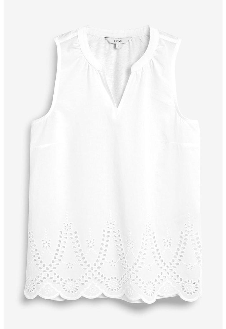Bluza cu insertii de dantela Sangallo NEXT