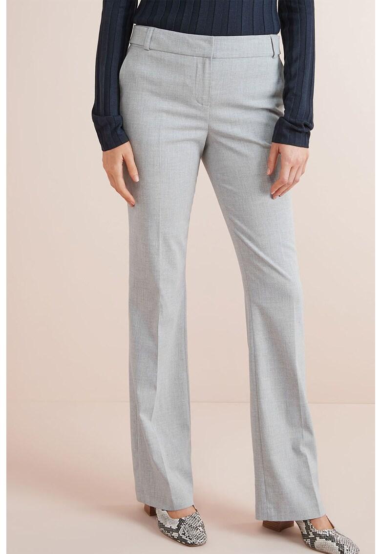 Pantaloni bootcut cu buzunare oblice NEXT