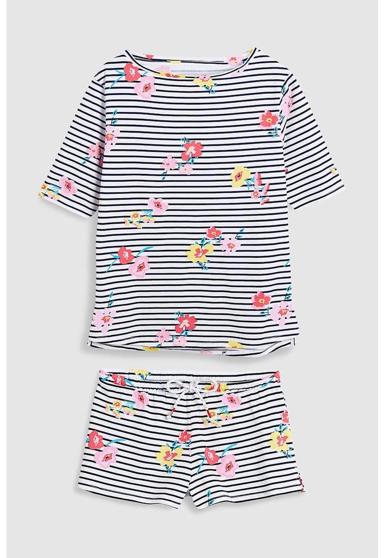 Pijama cu pantaloni scurti - cu imprimeu