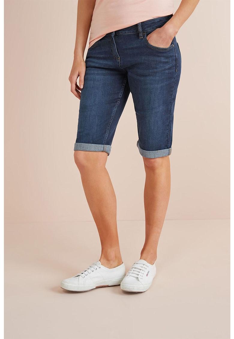 Pantaloni scurti skinny din denim NEXT