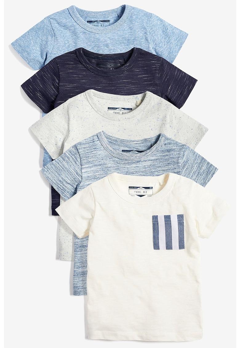 Set de tricouri texturate - 5 piese de la NEXT