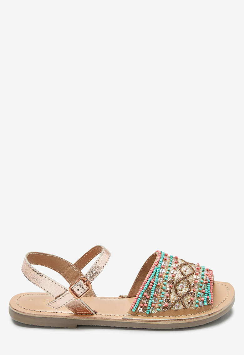 Sandale slingback cu margele de la NEXT