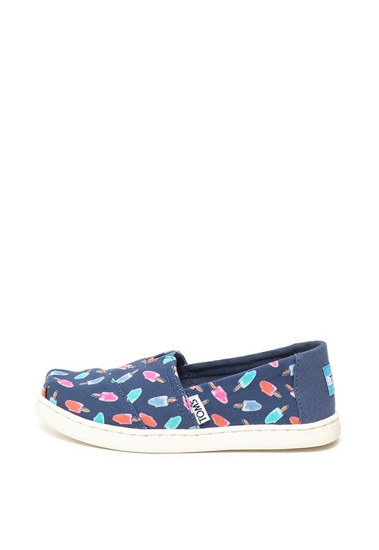 Pantofi slip-on cu imprimeu Classic