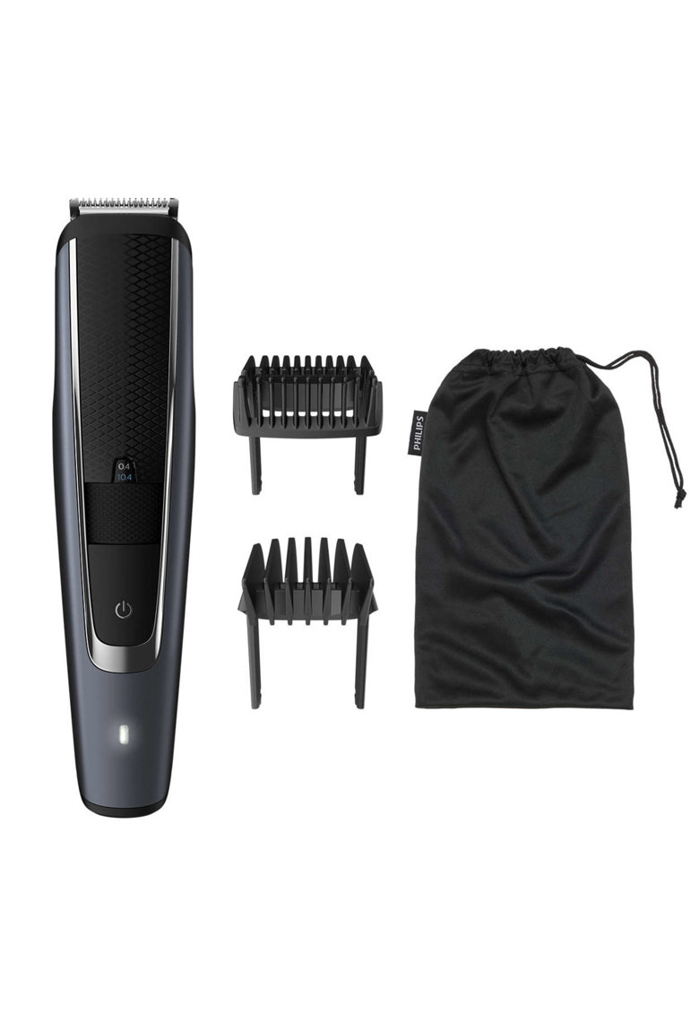 Aparat de tuns barba BT5502/15 - 40 de setari - 0.4-20 mm - Negru poza fashiondays
