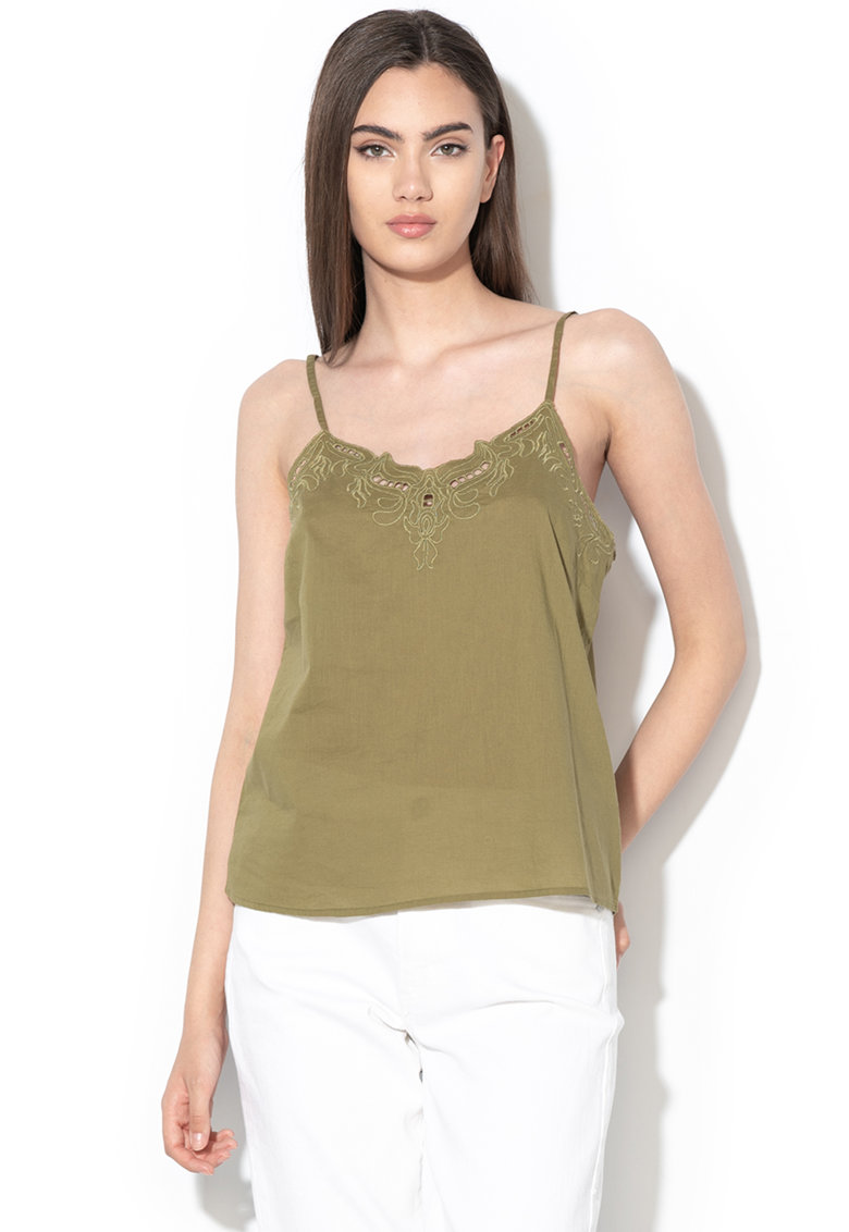 Top cu detalii brodate Sixty imagine fashiondays.ro Only