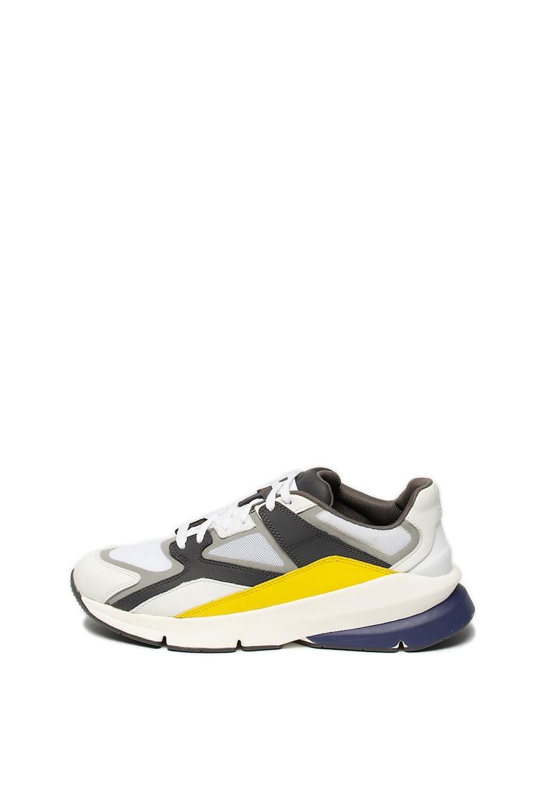 Pantofi sport cu garnituri de piele Forge 96 1