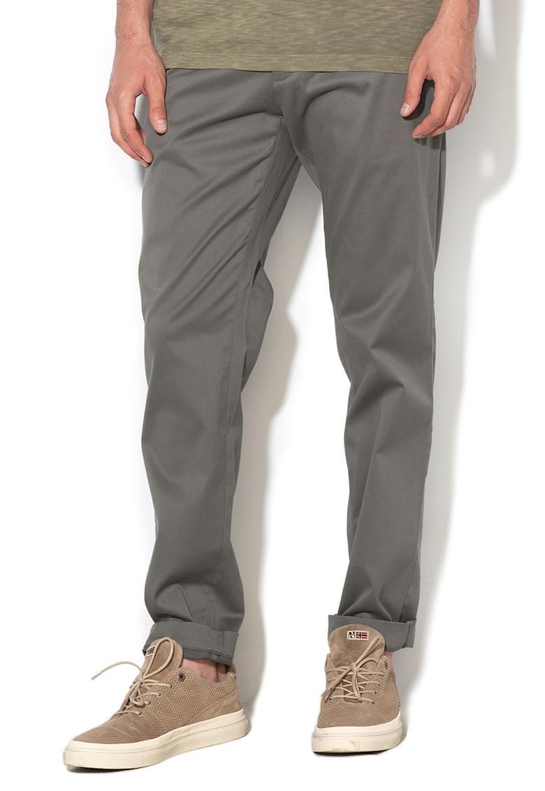 Pantaloni conici athletic fit Mason imagine