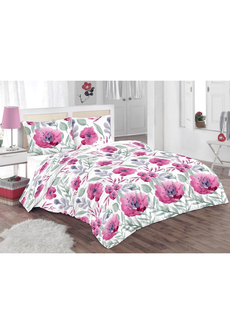 Lenjerie de pat pentru doua persoane - 100% bumbac imagine promotie