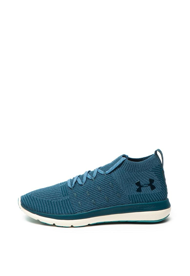 Pantofi sport mid-high - cu aspect tricotat - pentru alergare Slingflex Rise
