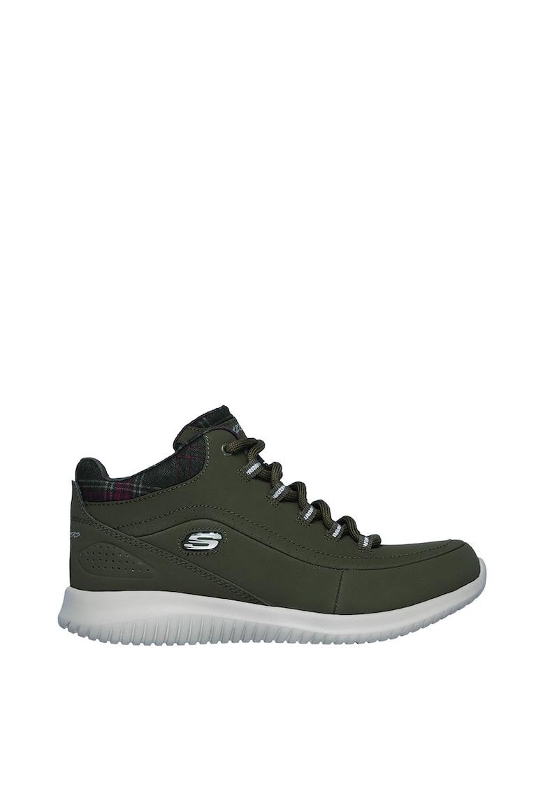 Pantofi sport de piele peliculizata - cu branturi din spuma cu memorie Just Chill