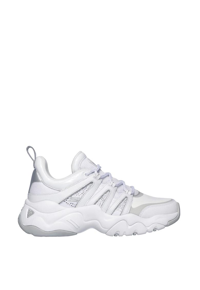 Pantofi sport de piele peliculizata si material textil D-Lites 3.0
