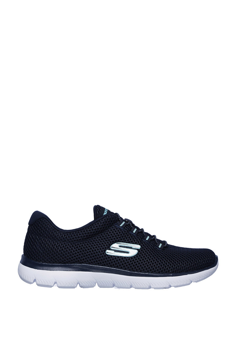 Pantofi sport slip on - de plasa - cu Memory Foam™Summits-Quick Lapse imagine