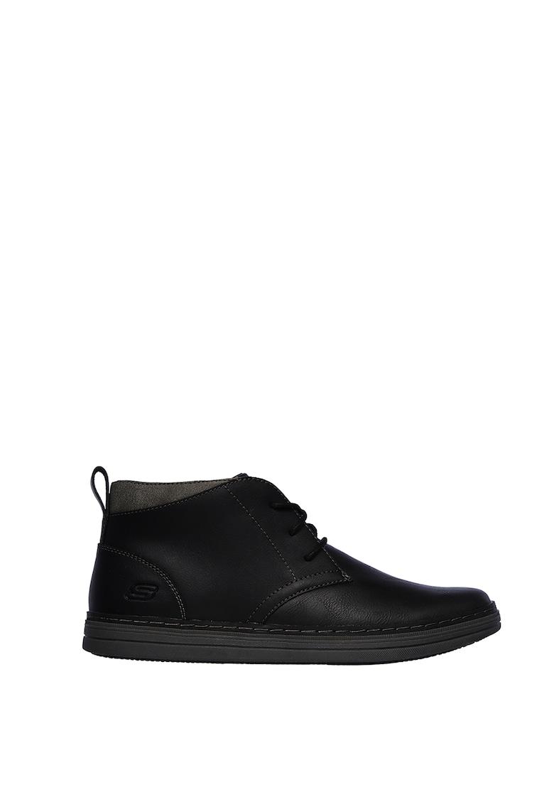 Pantofi casual de piele peliculizata Heston