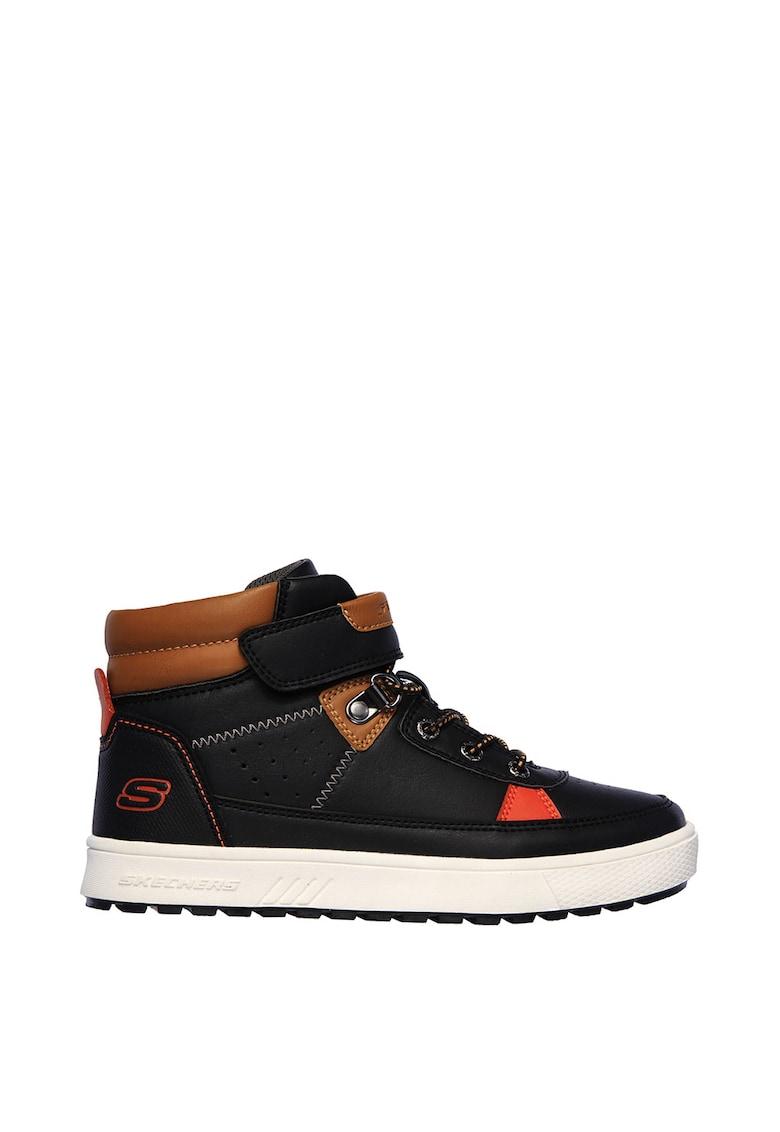 Pantofi sport mid-high de piele ecologica Direct Pulse Civix
