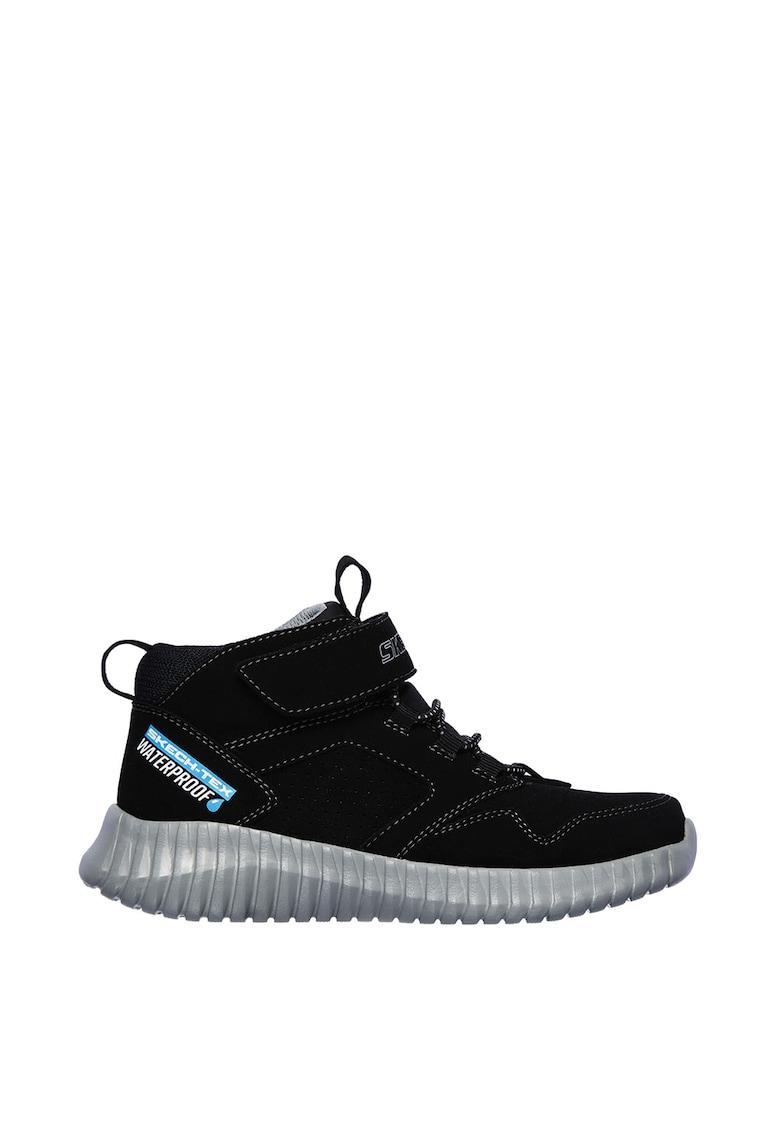 Pantofi sport mid-high - impermeabili - de piele nabuc ecologica Elite Flex