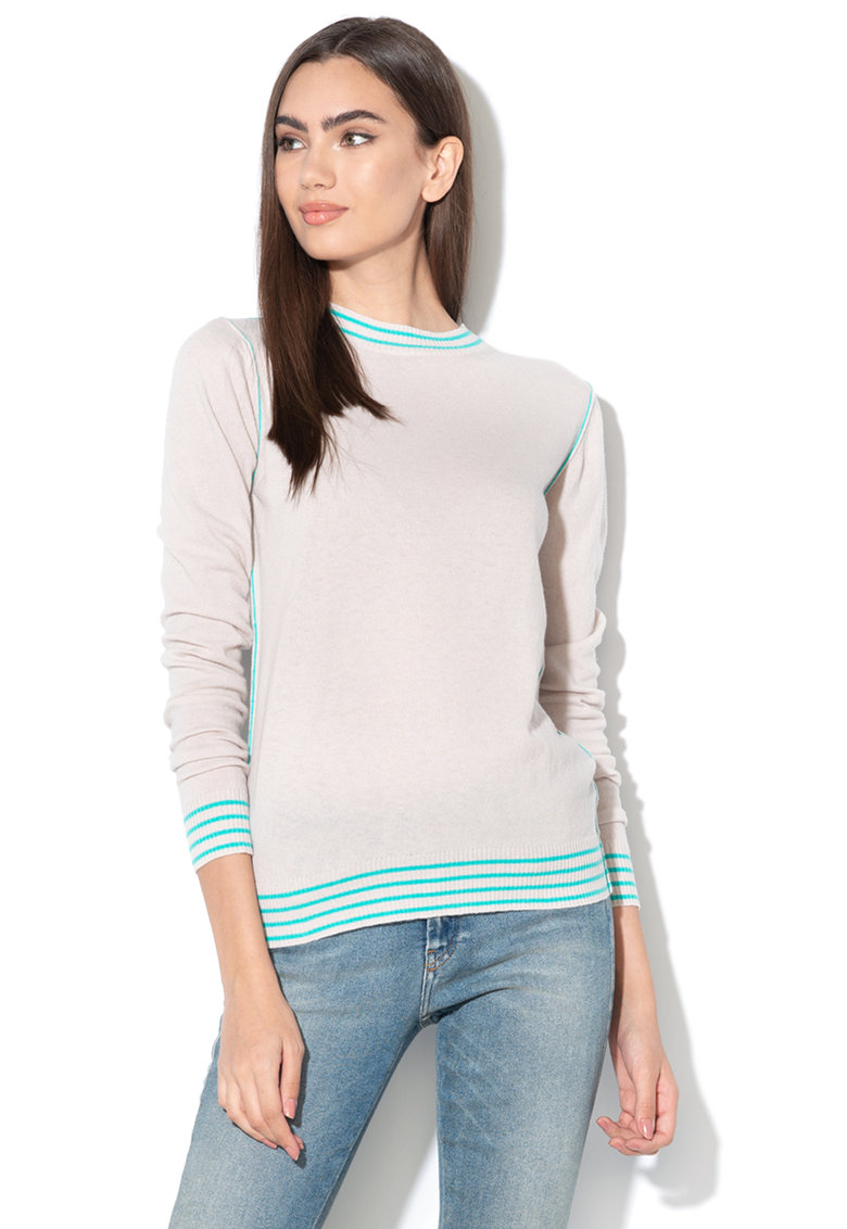 Pulover din tricot fin si amestec de lana Domanda