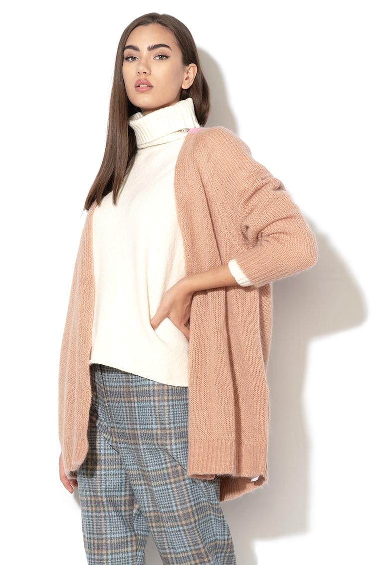 Cardigan din amestec de mohair si lana Dorotea