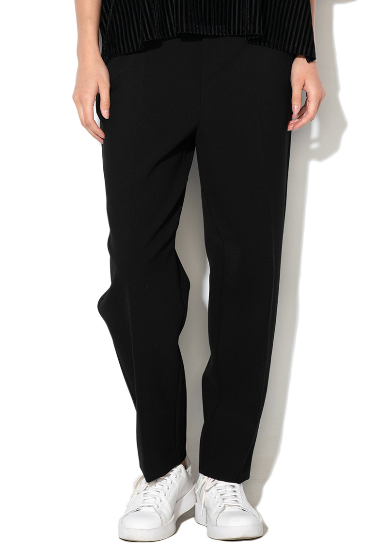 Pantaloni cu croiala conica Carla imagine promotie