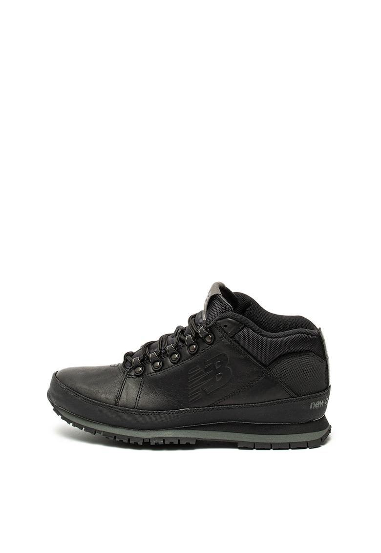 Pantofi sport de piele - cu logo 754