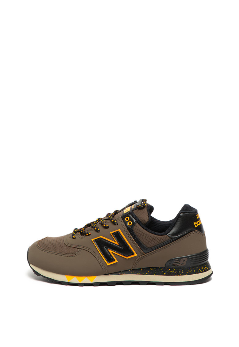 Pantofi sport cu insertii din material textil 574