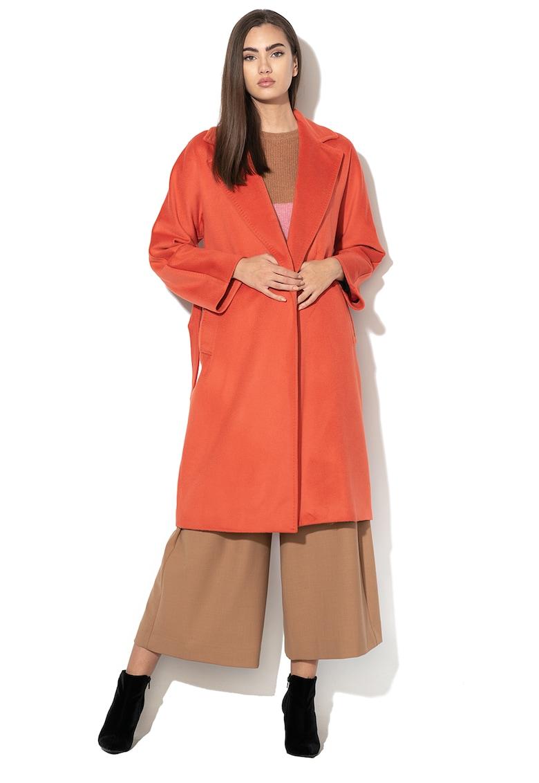 Palton de lana cu o curea Ottawa