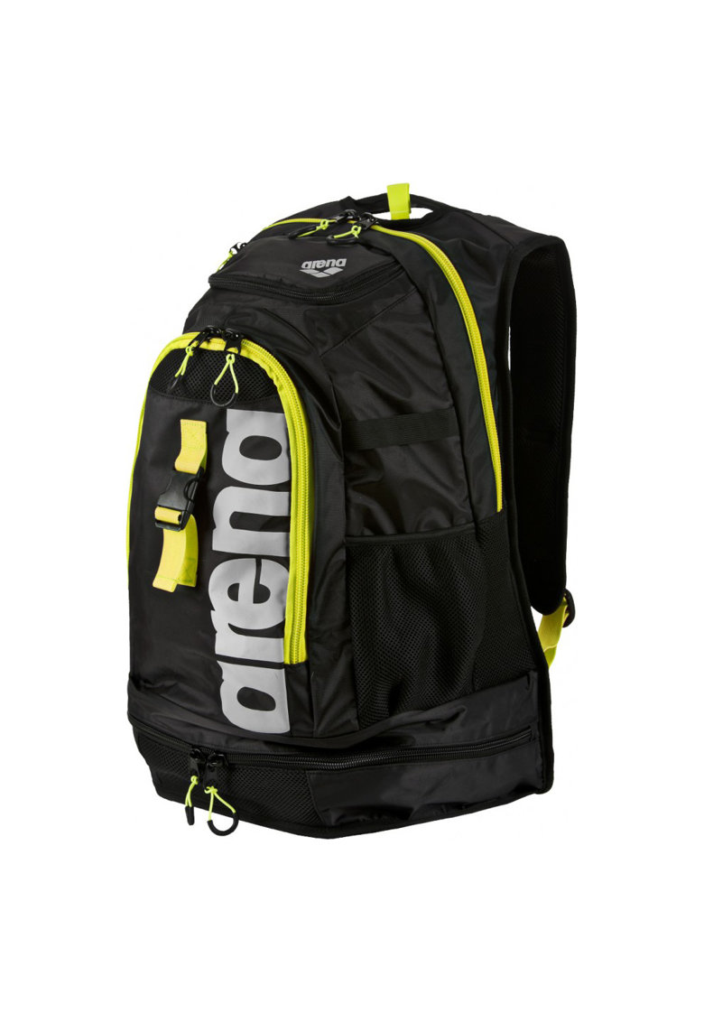 Geanta Fastpack 2.1 Unisex - Black-FLUO Yellow-Silver - NS