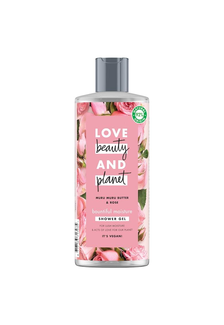 Gel de dus  Bountiful Moisture Muru Muru Butter & Rose - 500 ml